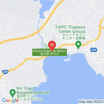 民宿漢那荘の地図