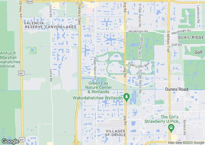 Map for Boynton Beach, Palm Beach County, Florida
