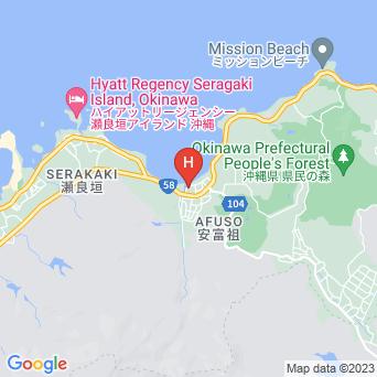 ラ・カーサ・パナシア・オキナワ・リゾートの地図