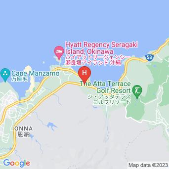 ホテルオリエンタルヒルズ沖縄の地図