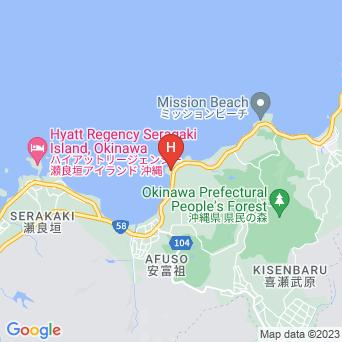 ホテルみゆきビーチの地図