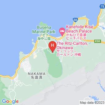 ザ・リッツ・カールトン沖縄の地図