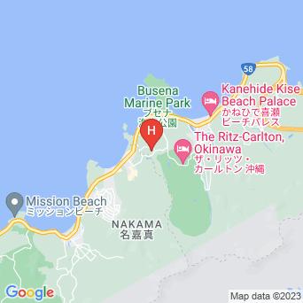 オキナワ マリオットリゾート&スパの地図