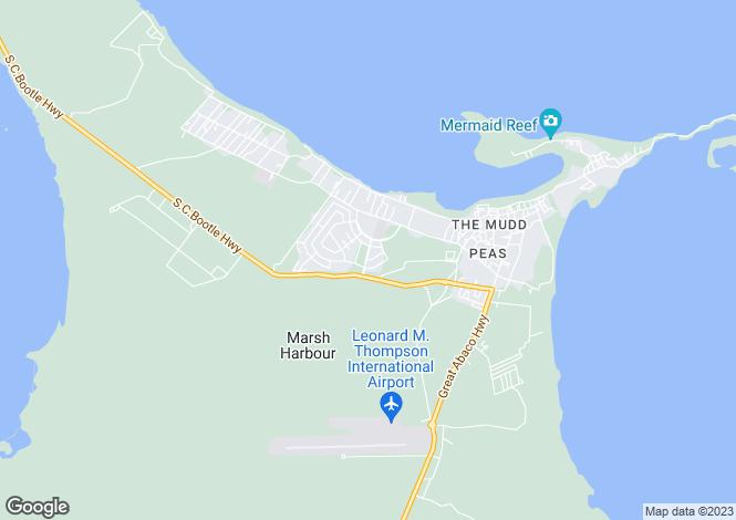 Map for Marsh Harbour