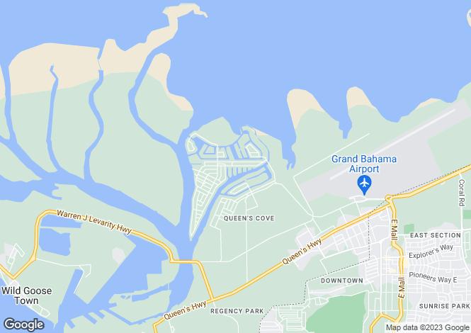 Map for Princess Isle, Freeport, Grand Bahama, Bahamas