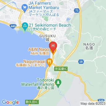 ホテル ルートイン名護の地図