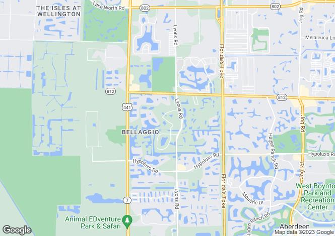 Map for USA - Florida, Palm Beach County, Lake Worth