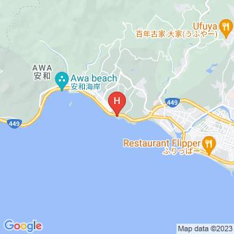 ホテルリゾネックス名護の地図