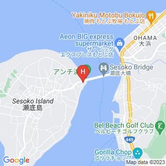 ERC resortの地図