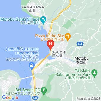 ホテルモトブリゾートの地図