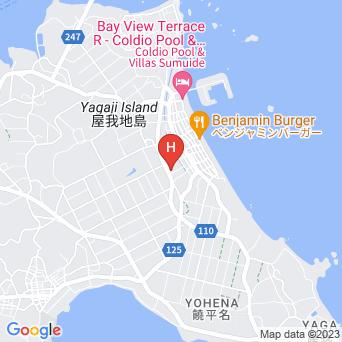 ペンション いぺーの地図