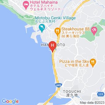 民宿うみべの地図