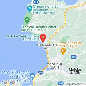 マリンピアザ オキナワの地図