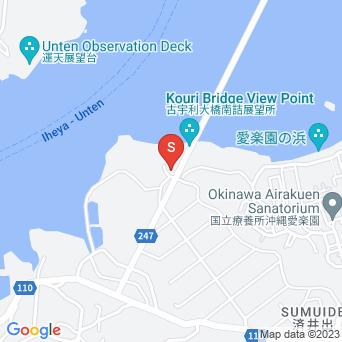 美らテラス/美らショップ(地中海風料理ガーデンレストラン&カフェ/フレッシュフルーツパーラー/沖縄そば万多)の地図