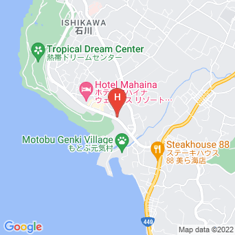 ザ・オーシャンフロントYAMAKAWAの地図
