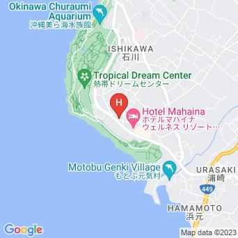 パイナップルハイツの地図