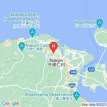 リゾートホテル ブエナビスタ今帰仁の地図