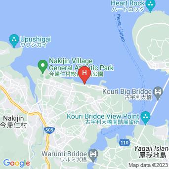 リゾートホテル ベルパライソの地図