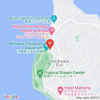 センチュリオンホテル沖縄美ら海の地図