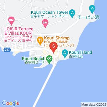 古宇利島カフェの地図