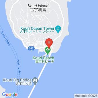 ゲストハウスYOSHIKAの地図