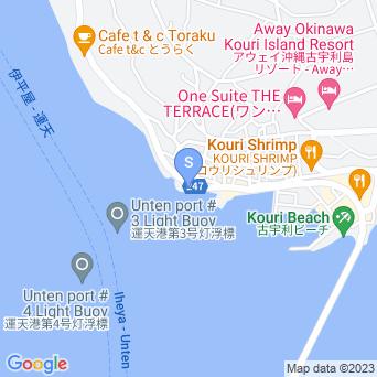 ウフドゥマイ/シラサ岬の地図