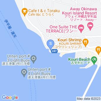 チグヌ浜/ちぐの浜/シラサ岬の地図