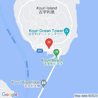 古宇利ゲストハウス島宿の地図