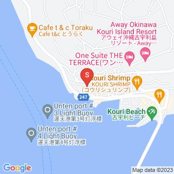 古宇利の散策道の地図