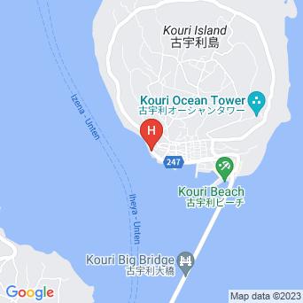宇望庵の地図