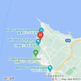 ホテルオリオンモトブリゾート&スパの地図