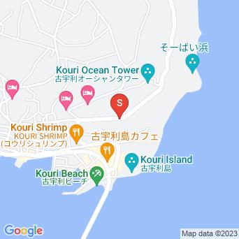カフェまぁるい島(再開?)の地図