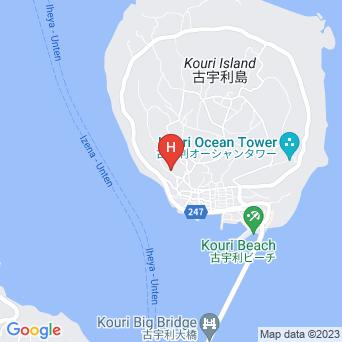 リゾートヴィラ 古宇利島アクアブルー/ResortVilla Aquablueの地図