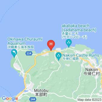 ウッドペッカー今帰仁/WOODPECKER Nakijinの地図