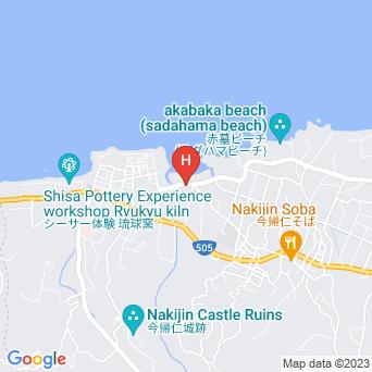 今帰仁の宿 ハイビスカスの地図