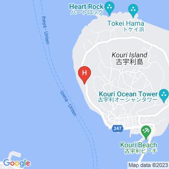 古宇利島ペンション カヤリゾート/KAYA RESORTの地図