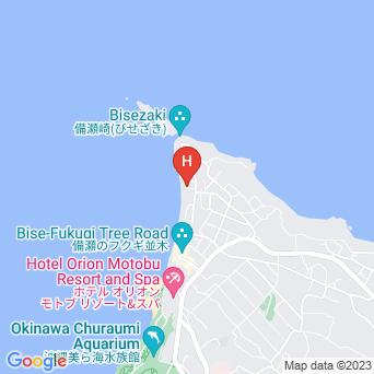海辺の宿ちゃんや〜の地図