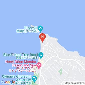 琉球古民家ちゃんや〜の地図
