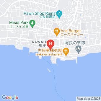 民宿かりゆしの地図