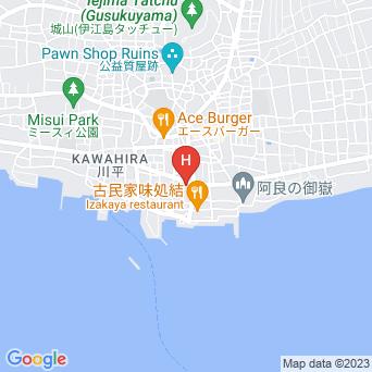 簡易宿所伊江島さんご荘の地図
