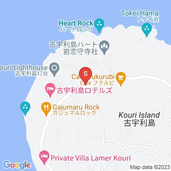 島の北側の集落の地図