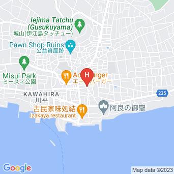 ペンションKARIGOYAの地図
