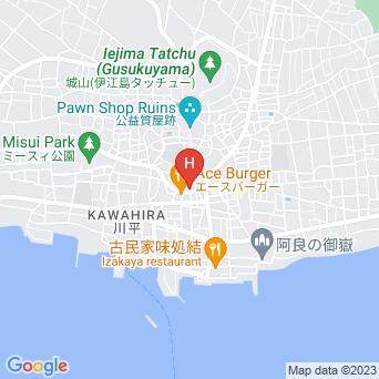 江の島観光ホテルの地図