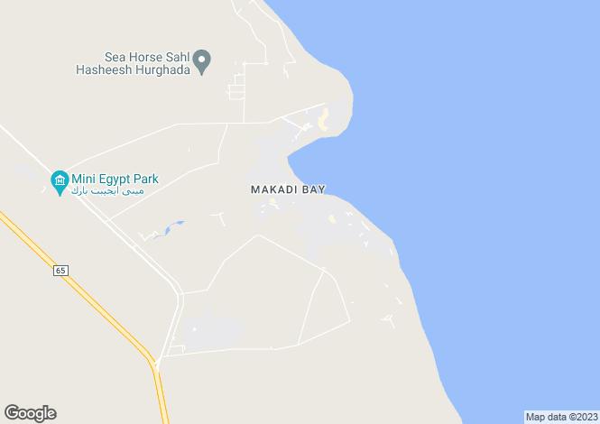Map for Makadi Heights, MakadI, Egypt
