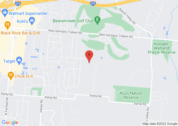 Map of 2673 La Cresta Drive, Beavercreek, Ohio 45431, United States