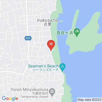 民宿金久白濱荘/白浜荘の地図