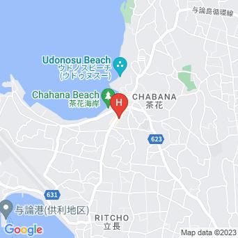 ホテル青海荘の地図