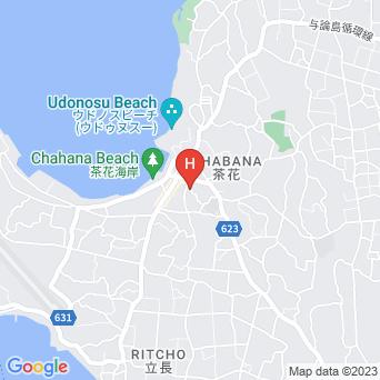 与州旅館の地図