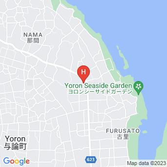 民宿楽園荘の地図