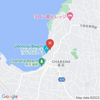与論島パークホテルの地図